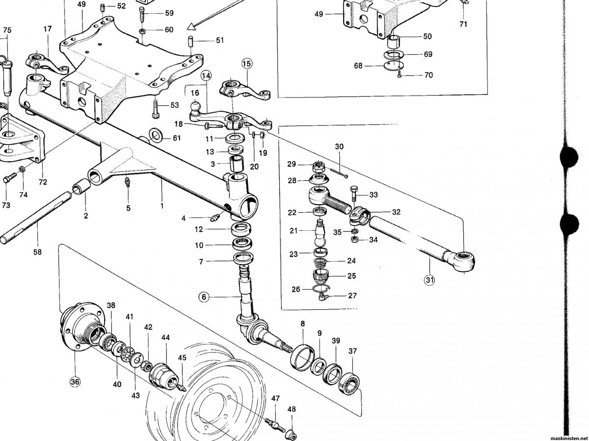 Byte styrspindlar BM 650 • Maskinisten