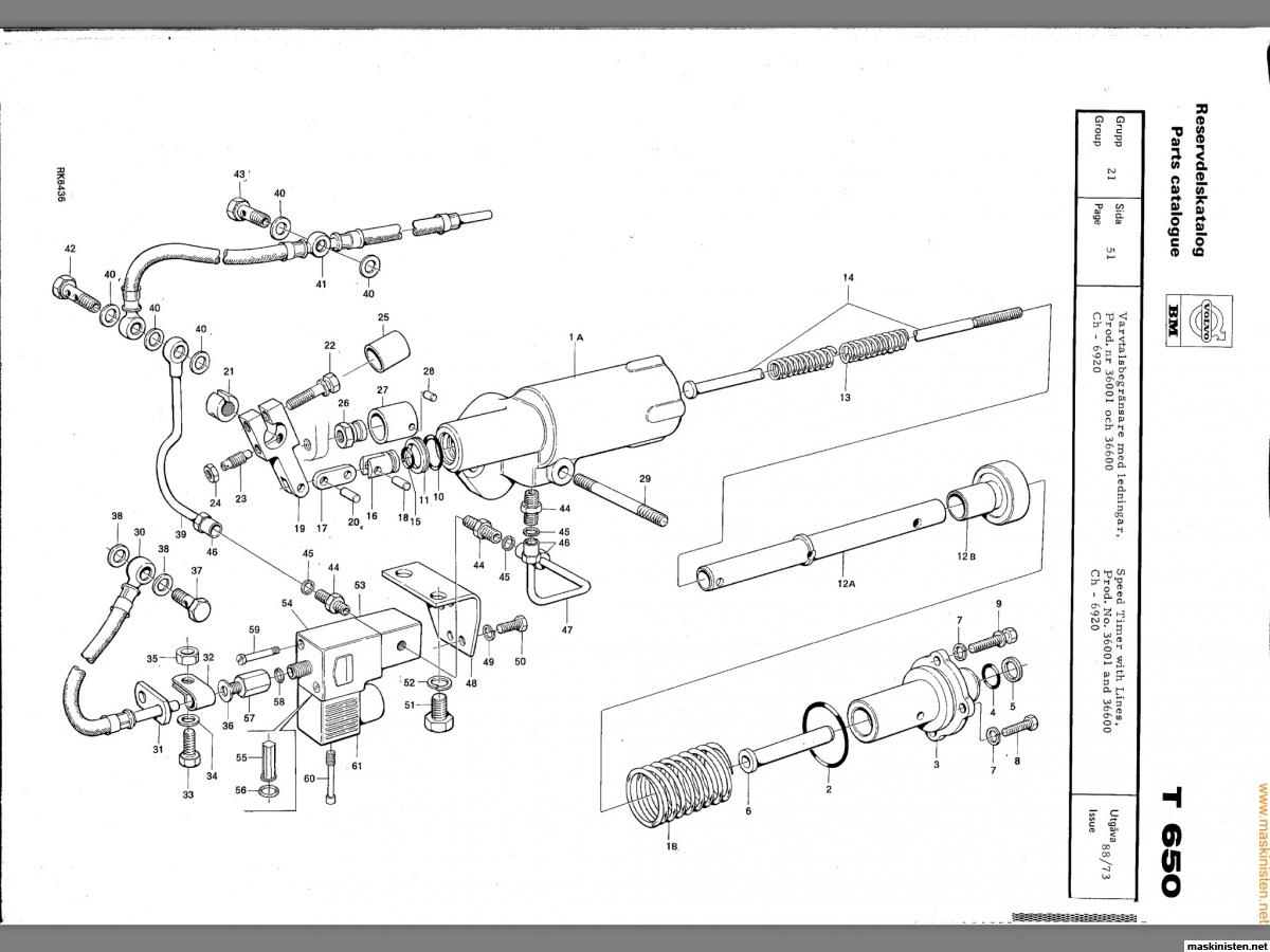 Varvtalsbegränsare bm650 • Maskinisten