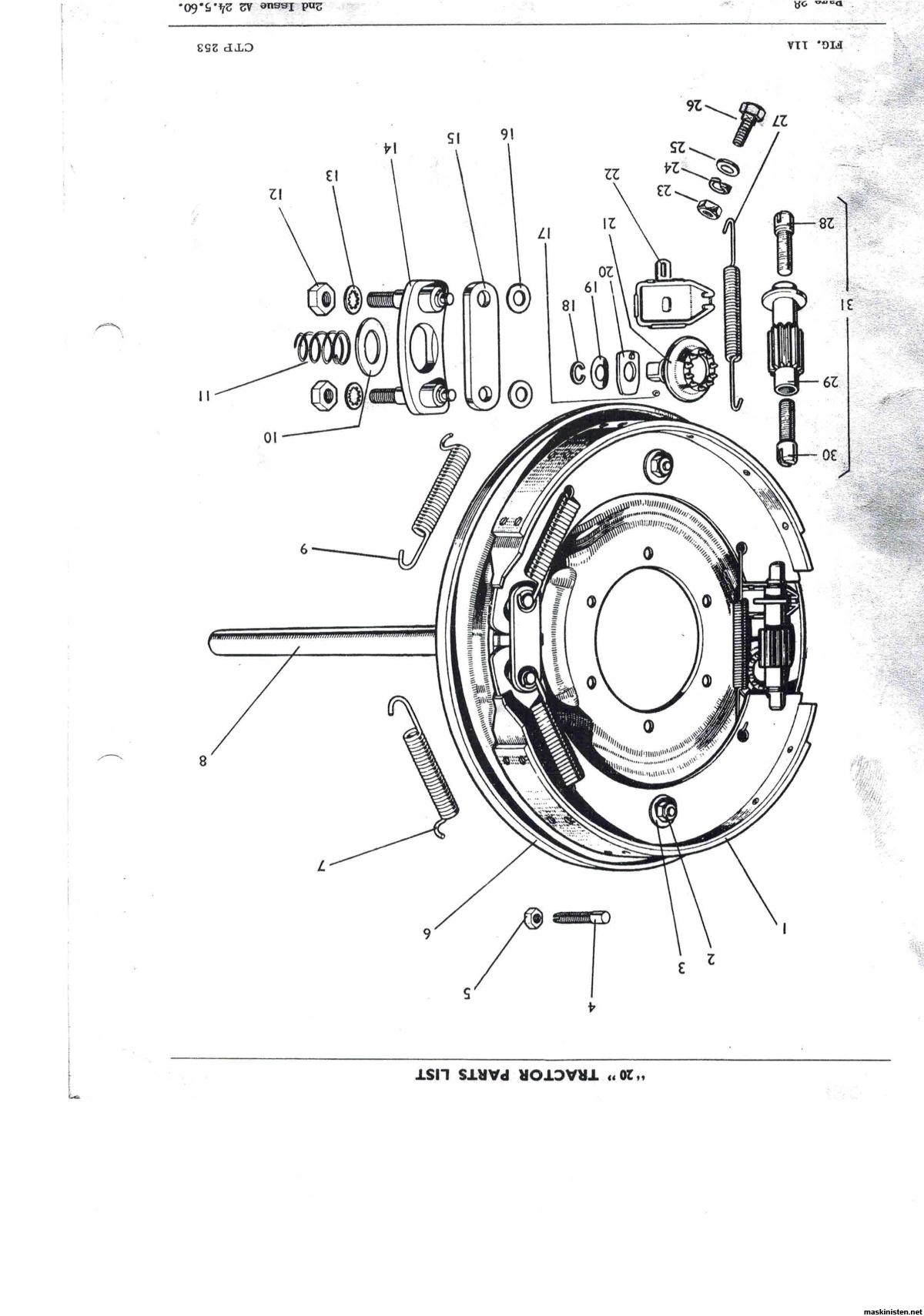 Ferguson T 20 1948 • Maskinisten