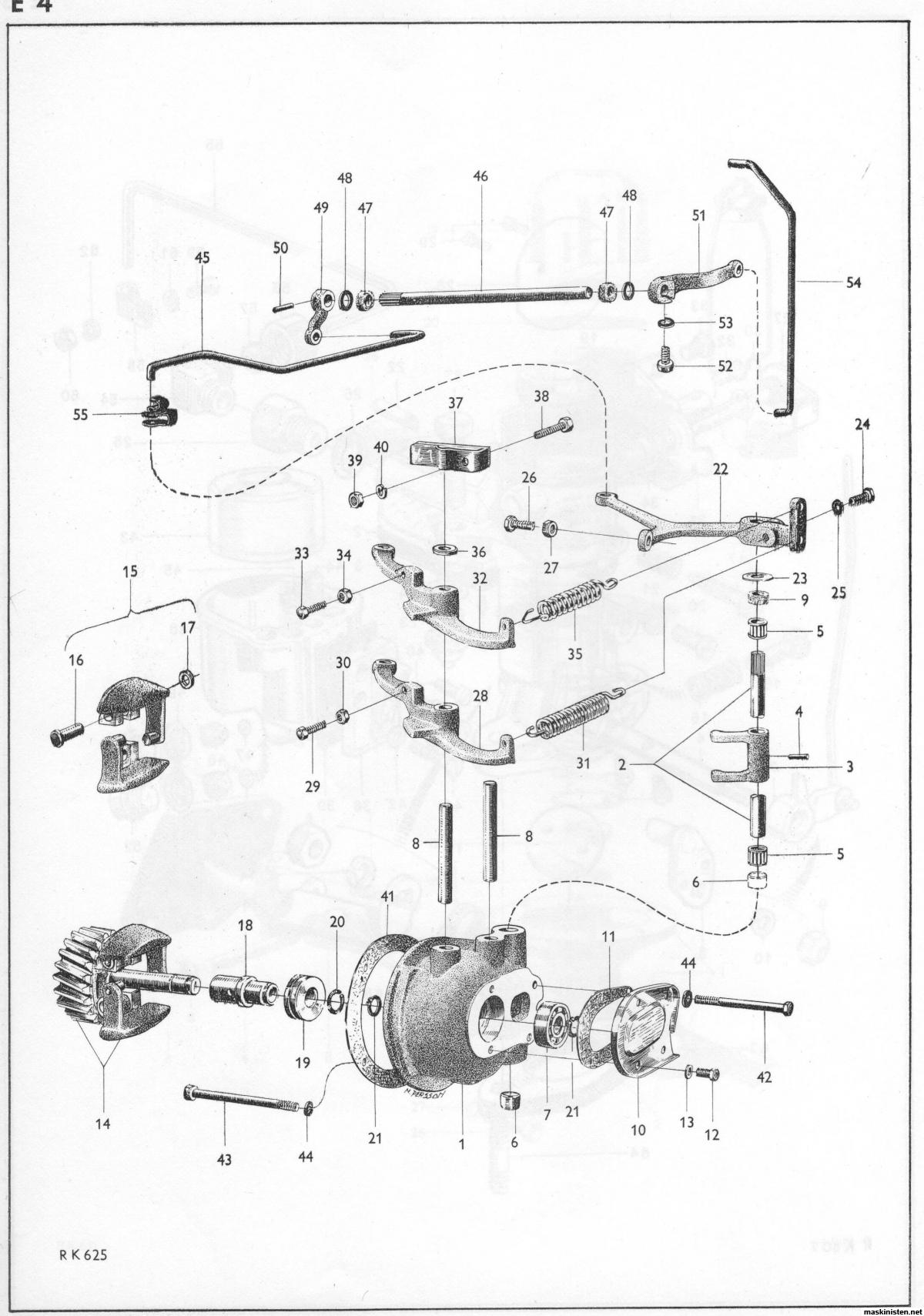 Volvo T24 Hastighetsregulator Varvtalsregulator • Maskinisten
