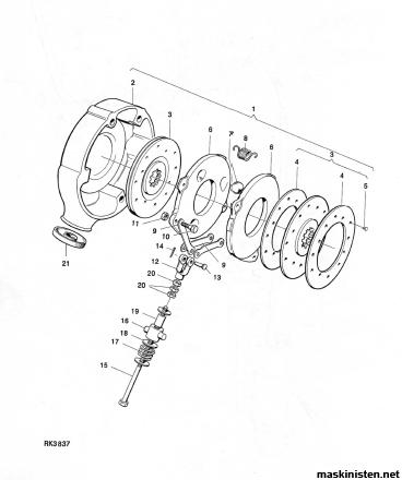 Huggande bromsar bm 430 • Maskinisten
