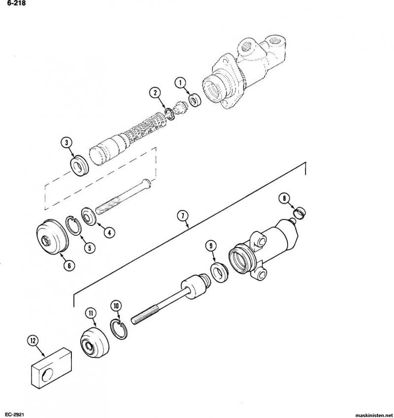 Koppling Case IH 585 • Maskinisten