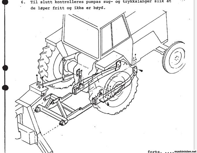 Bilder av brakett til Haka graveaggregat • Maskinisten