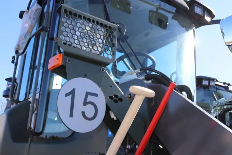 28 nya volvo hjullastare redo för tjänstgöring - maskinkanalen