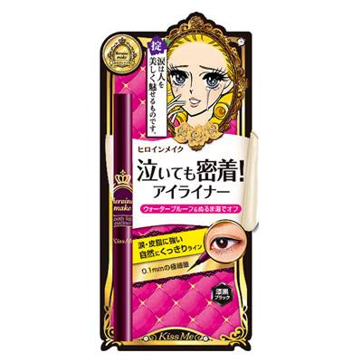MaskQueen 日本Kiss Me-Kiss Me 花漾美姬 華爾茲淚眼防水眼線液筆0.4ml