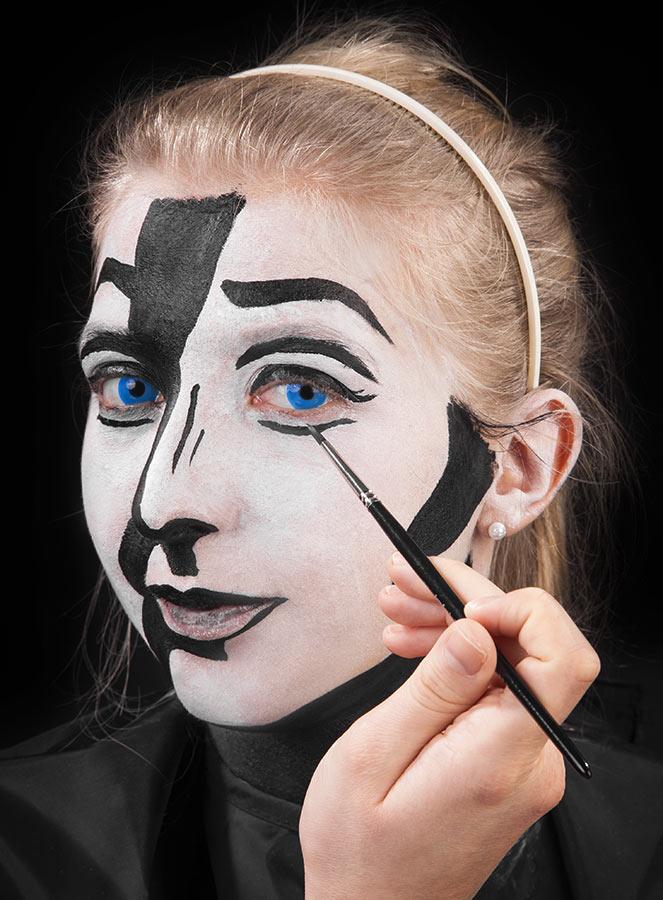 Pop Art Makeup Tutorial  maskworldcom