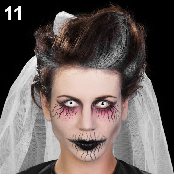 Halloween Makeup Tutorial Geisterbraut