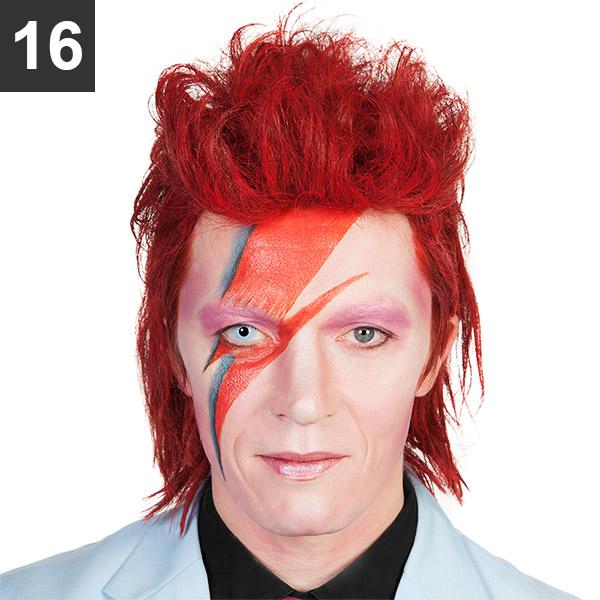 Ziggy Stardust Make Up Tutorial