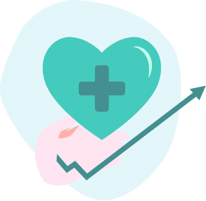 General in control of health icon