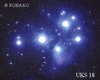 M45 con su nebulosa asociada