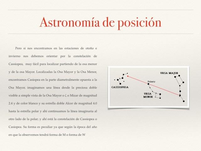 Astronomía de posición fotos.011