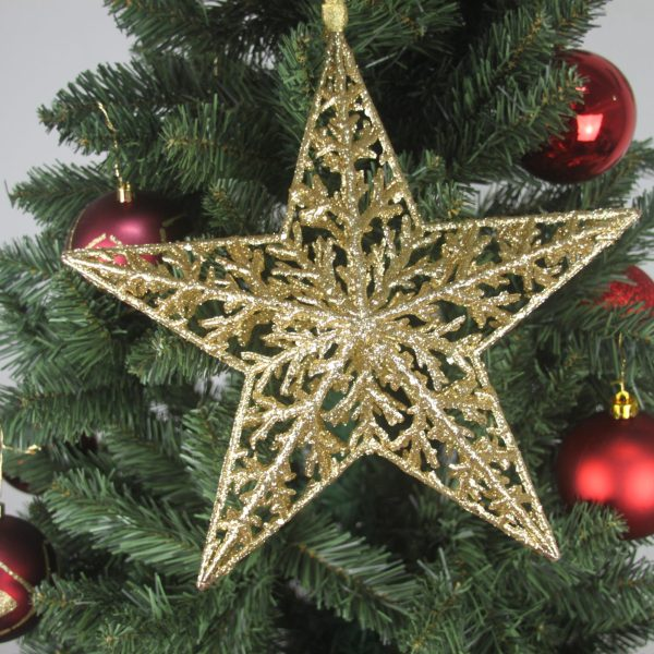 Giant Stella Gold Tree Topper - Masons Home Decor Singapore