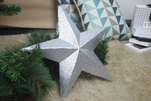 Perfect Star Silver Tree Topper - Masons Home Decor Singapore