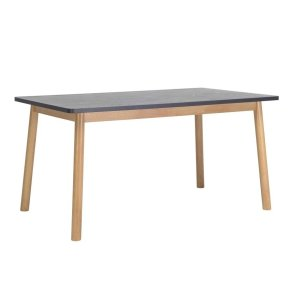 dekel dining table graphite grey by masons home decor 1