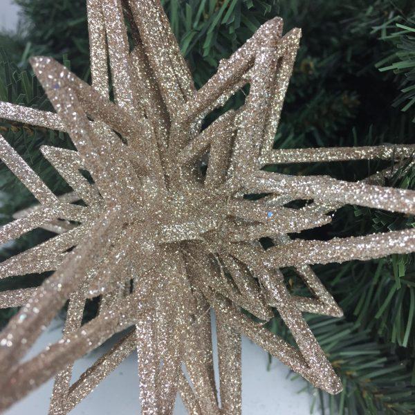 4D Snowflake by Masons Home Decor