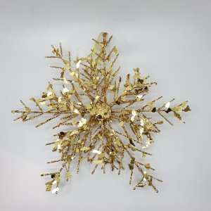 Gold Flakey Star by Masons Home Decor