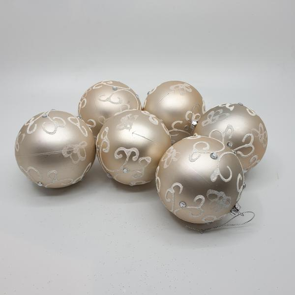 Glacier Baubles By Masons Home Decor