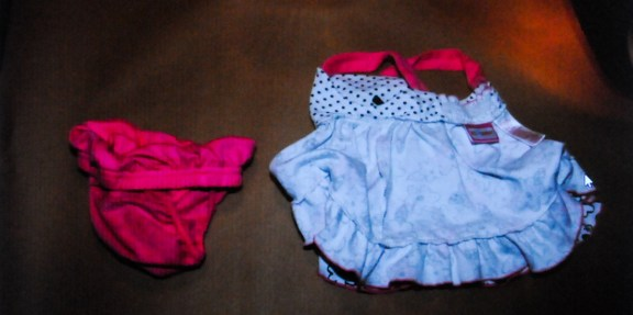 Baby Kate's clothes found on Phillips when he was arrested.