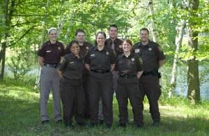 From left: Leala Eilers, Oceana County; Lucy Jones, Muskegon County; Brandon Coughlan, Mason County; Marci Neel, Muskegon County; Matthew Stoddard, Ottawa County; Crystal Greve, Muskegon County; Joseph Salisbury, Osceola County