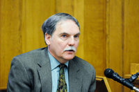 Dr. Frank Telewski of MSU testified during Sean Phillips' trial. He is one of the experts helping with the case.