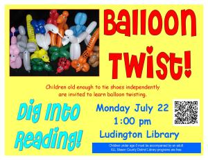 Balloon Twist Sign