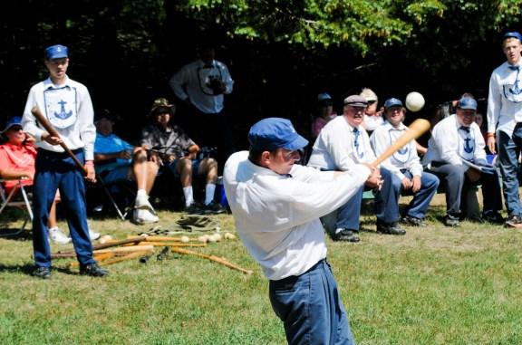 ludington mariners old time baseball mason county press002
