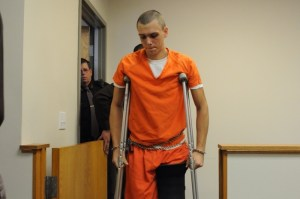 Eric Knysz appeared recently in Manistee County District Court.
