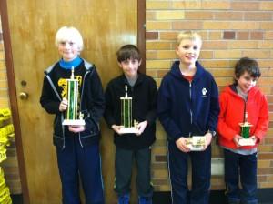 Upper elementary winners