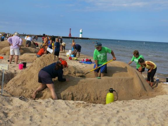 The Sand Sculpture Contest is a popular event during Pentwater Homecoming. It is set for Friday from 8 a.m. to noon at Charles Mears State Park.