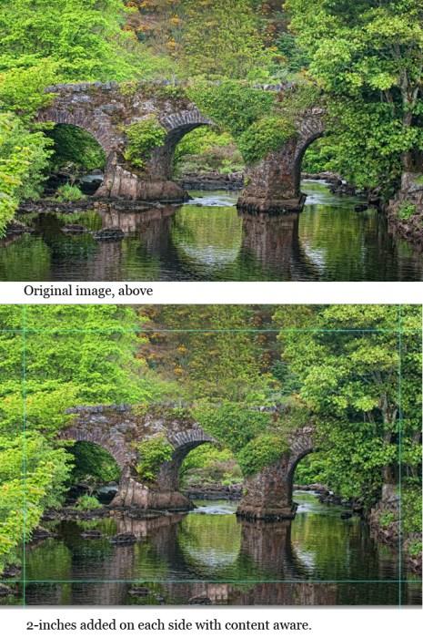 irish bridge canvas