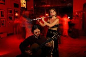 Folias is Andrew Bergeron and Carmen Maret