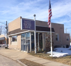 West Shore Bank Walkerville branch.