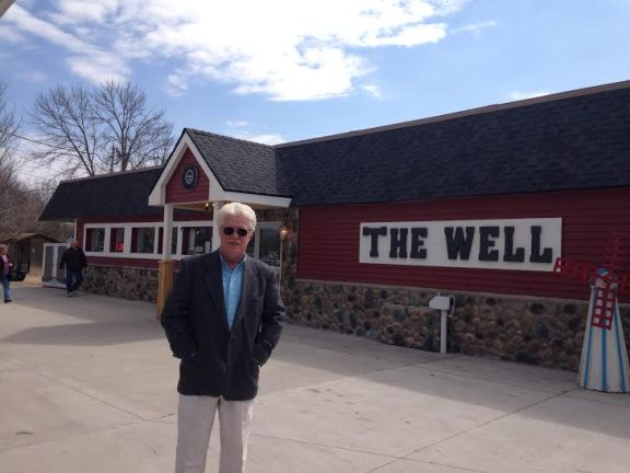 Ronald Hammack, the owner of the Wishing Well in Pentwater, opened the newly-improved store April 1 after it was closed for two and a half years.