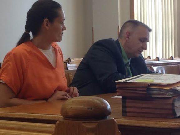 Tonya Johnson with her attorney, Al Swanson, Jr.