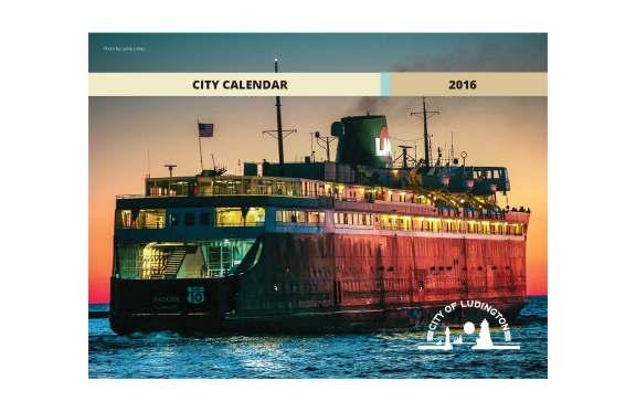 2016 City Calendar Cover