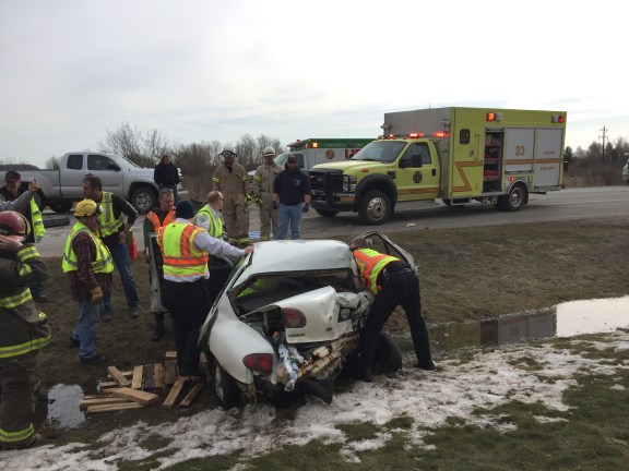 us 31 crash scottville custer fire department mason county sheriff