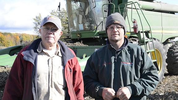 Bob Ohse, left, and Jacob Zwagerman.