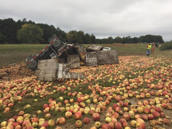 apple spill - 3
