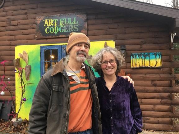 Craig Convissor and Laurie Carey.