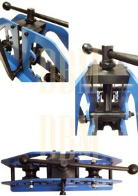 Manual Tube Pipe Roller Bender Bending Square Round Flats