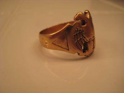 Antique Scottish Rite Ring