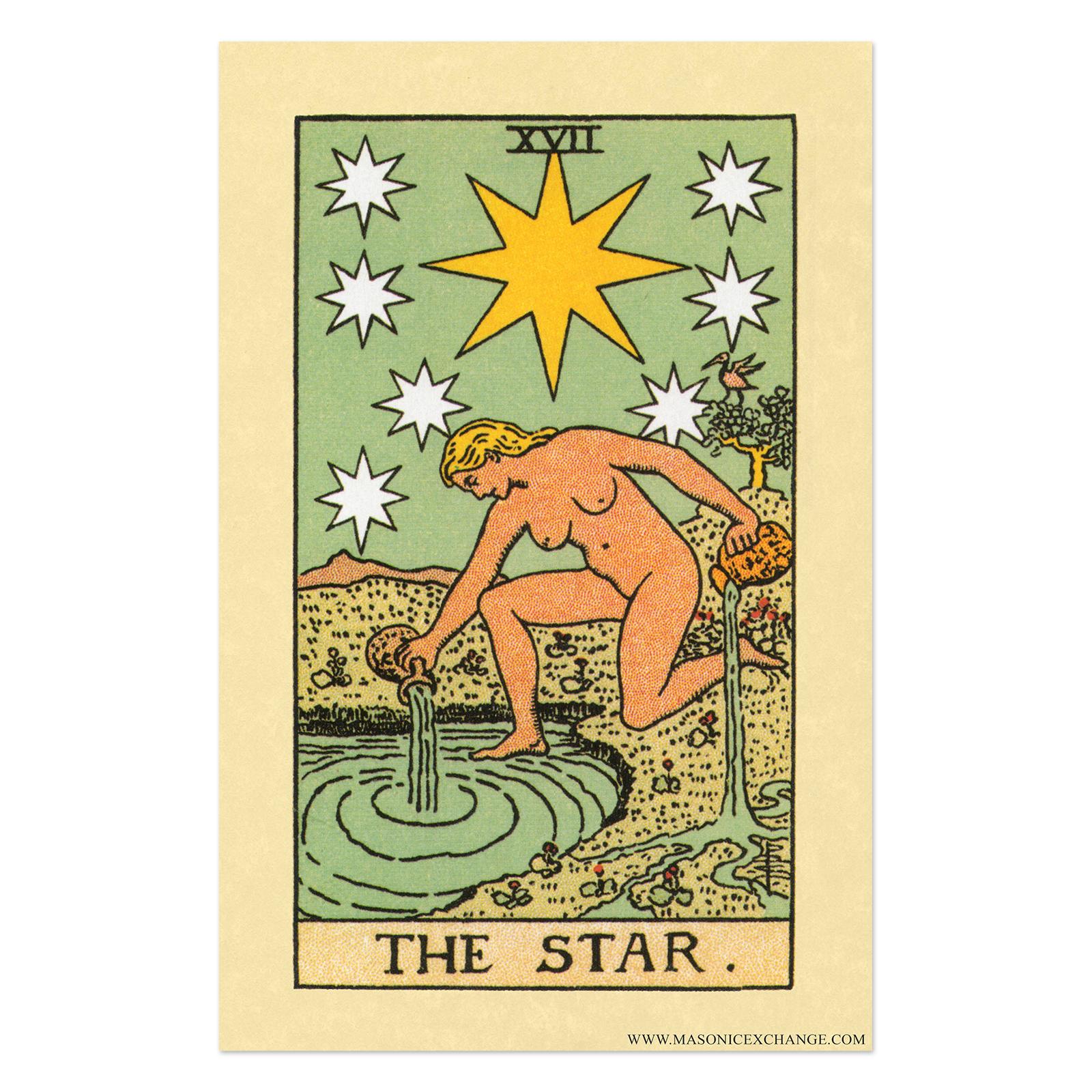 tme art p 00026 the star tarot card poster 11 x 17