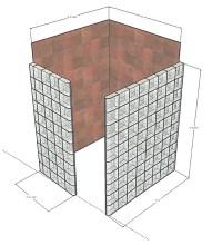 Dimensions For Doorless Walk In Showers | Joy Studio ...