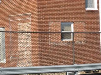 Mortars and mixtures brick wall