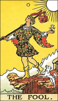 Image result for tarot card fool