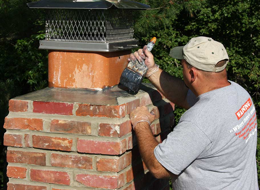 Crown Repair  Cherry Hill NJ  Masons Chimney Service