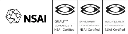 Mason Technology became ISO 9001:2015 certified with NSAI in 2018 – Reg. No. IE19.7170