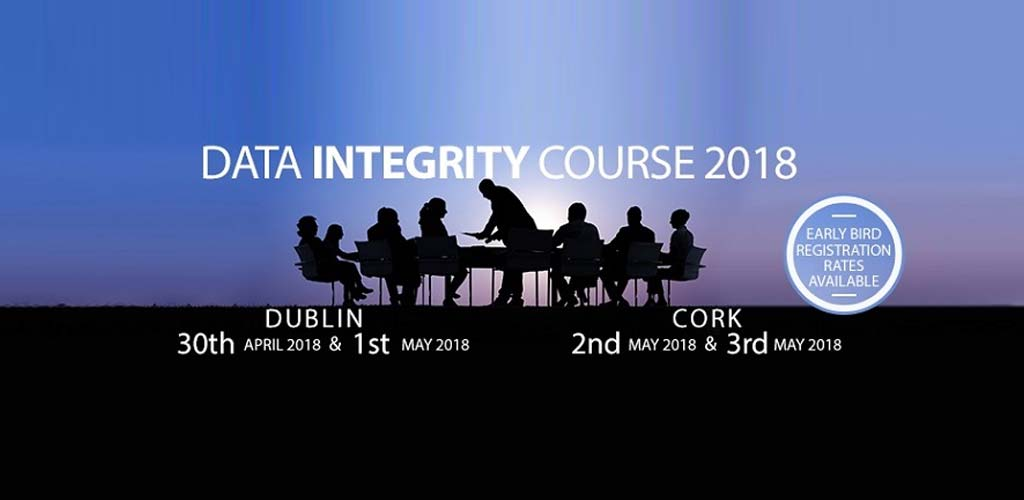 Data integrity course 2018
