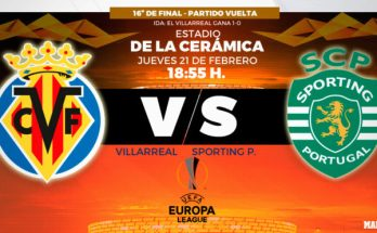 Previa Europa League: Villarreal vs Sporting de Portugal