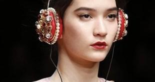 Los carísimos auriculares de Dolce & Gabbana